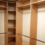 Birch closet organizer
