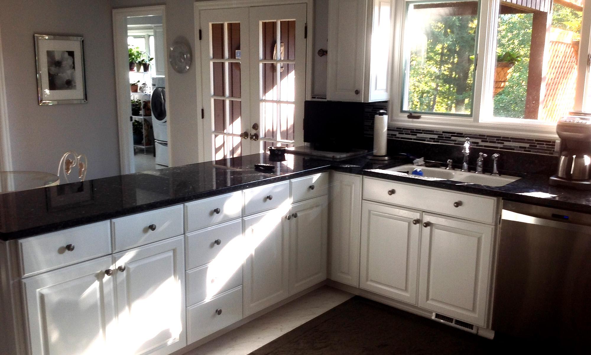 Paint-grade kitchen
