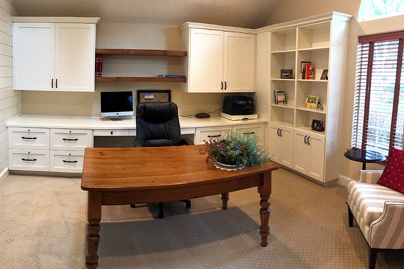 Home office - paint-grade